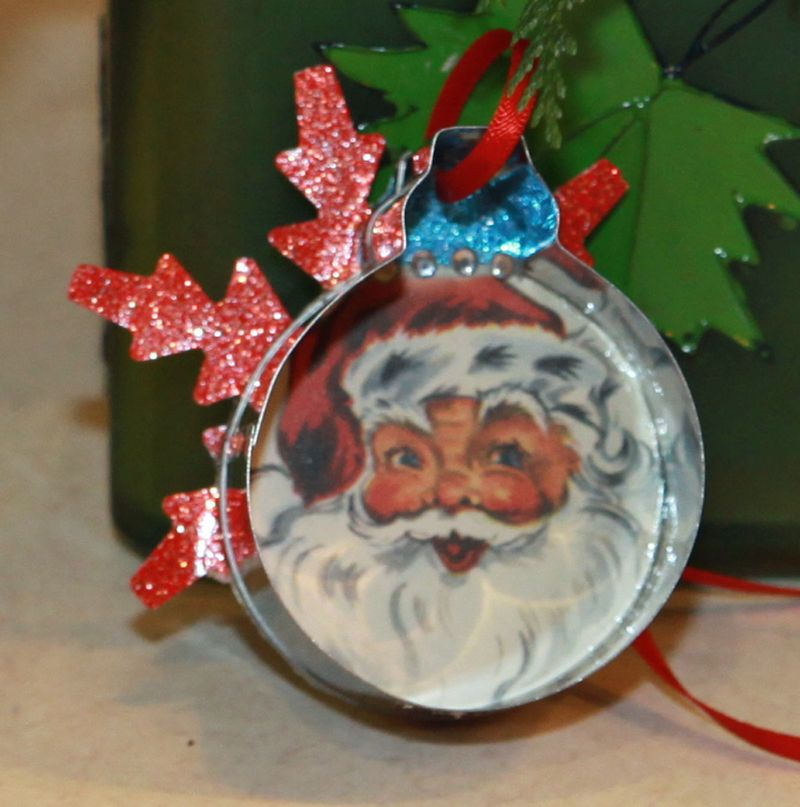 Dear santa christmas ornament 4