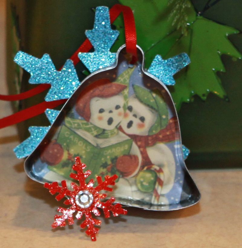 Dear santa christmas ornament 5