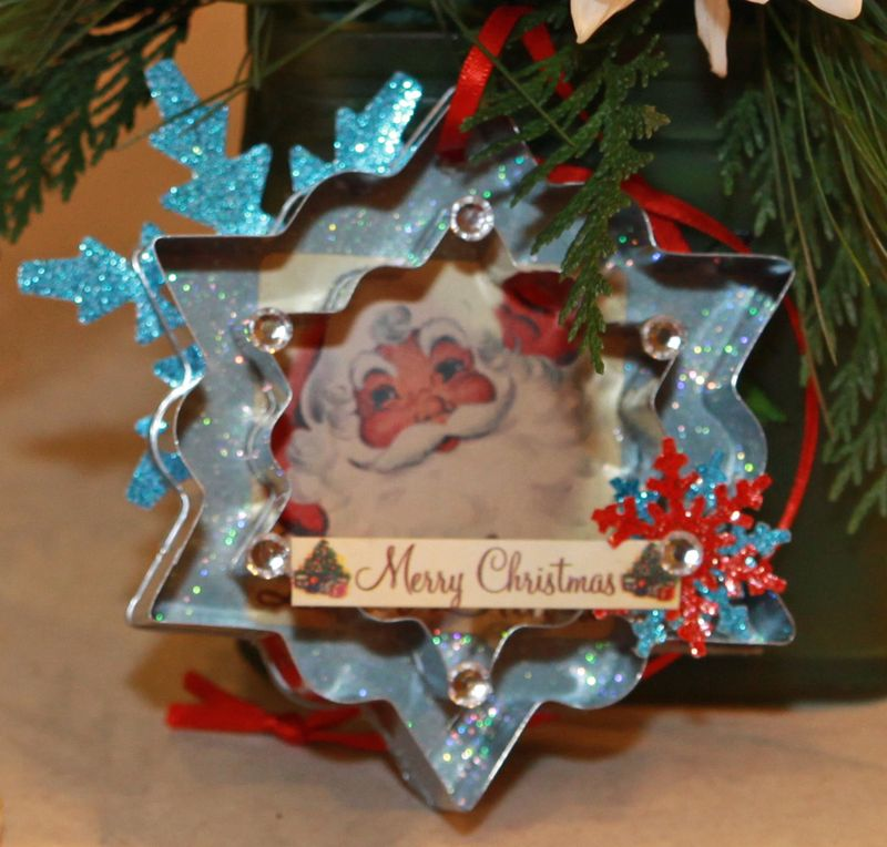 Dear santa christmas ornament 2a