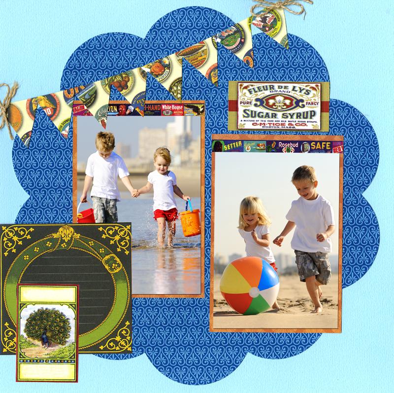 Labels Classique layout large-photos 800